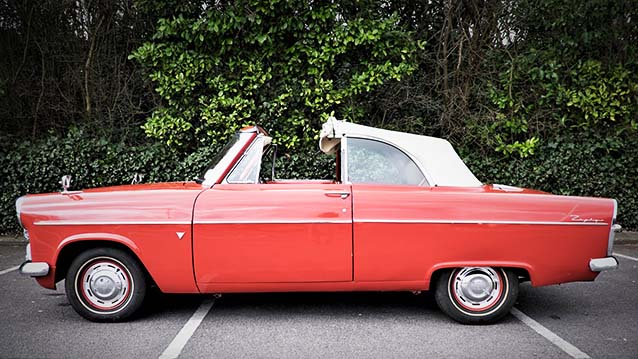 Ford Zephyr Convertible