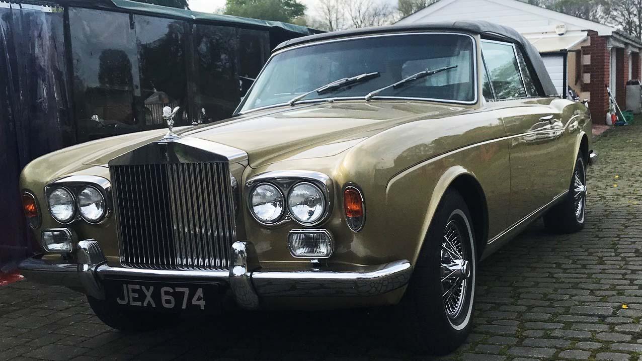 Rolls-Royce Corniche Convertible