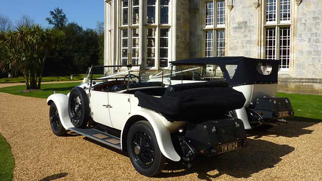 A Pair of Rolls-Royce Vintage Convertibles