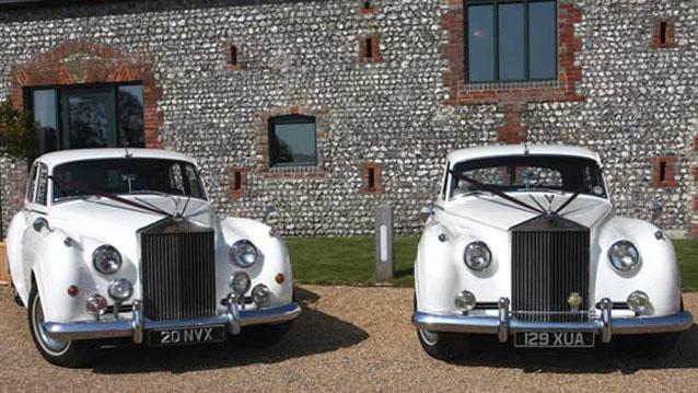 A Pair of Rolls-Royce Silver Cloud 1's