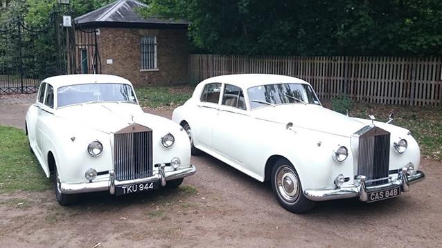 A Pair of Rolls-Royce Silver Cloud II's