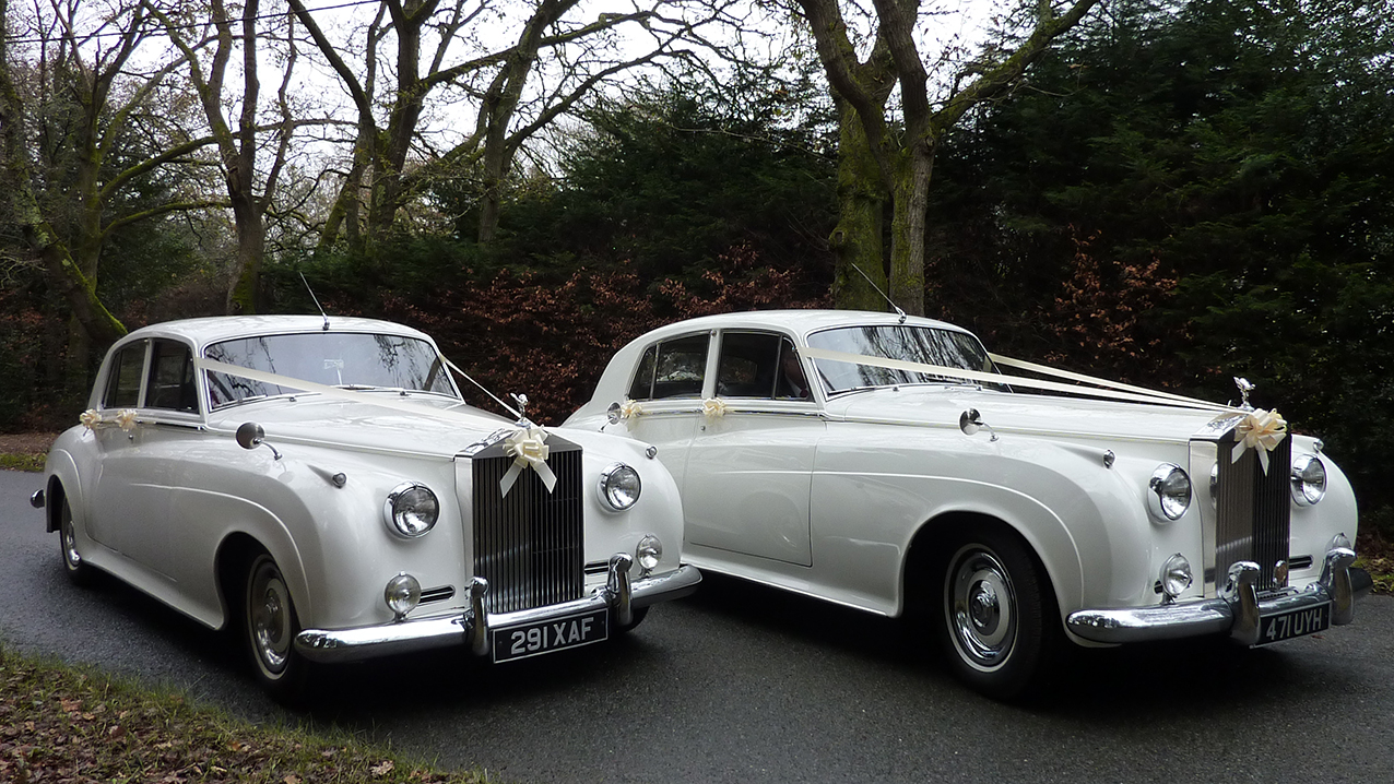 A Pair of Rolls-Royce Silver Cloud I's