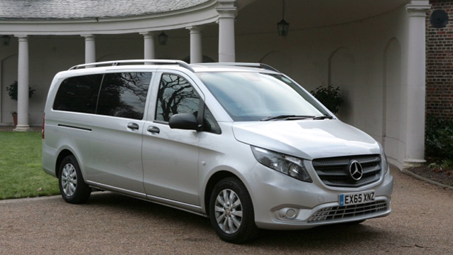 Mercedes V-Class wedding car for hire in London