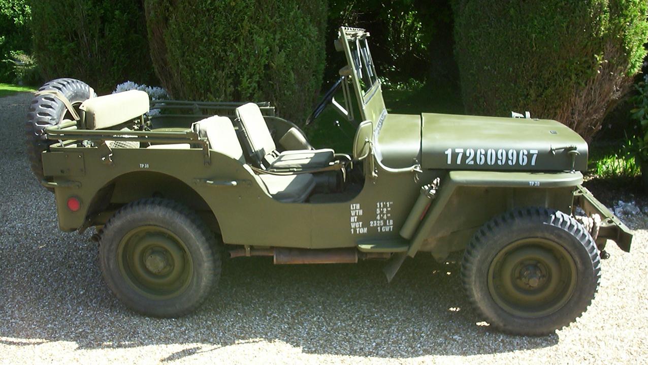 Willy's 'Hotchkiss' Jeep