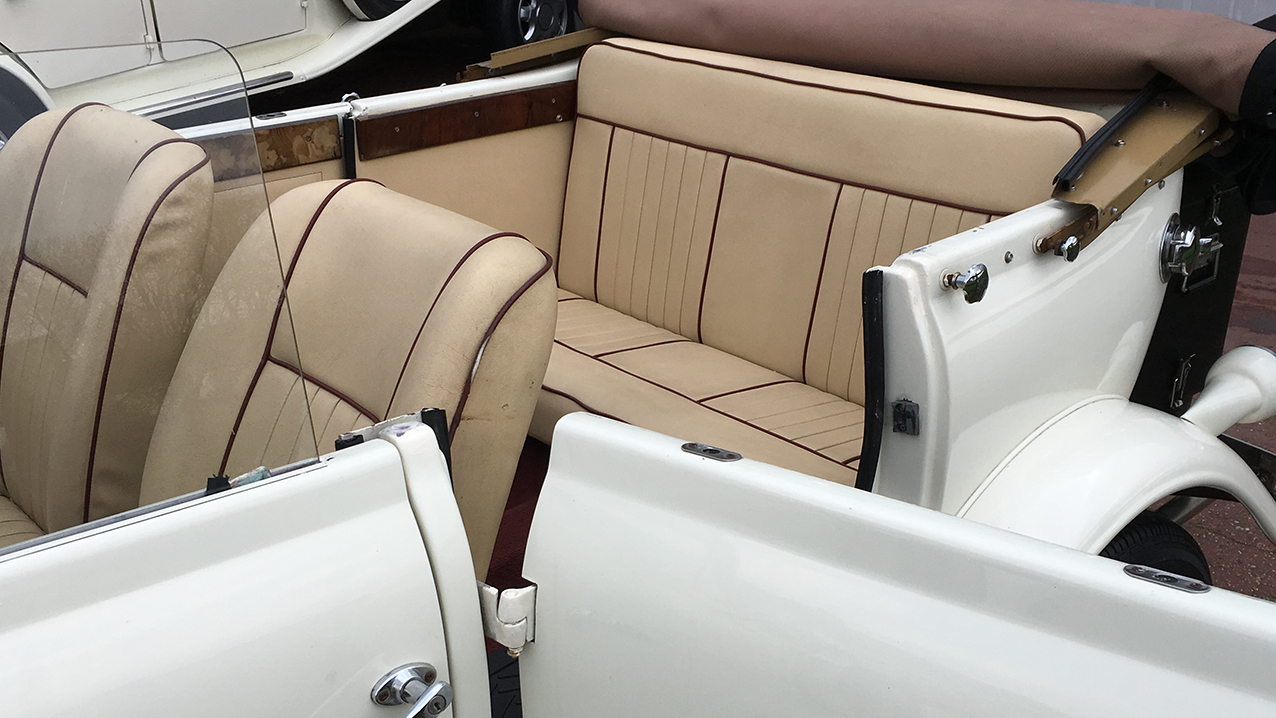 A Pair of Beauford Convertibles