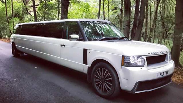 Range Rover Vogue Stretched Limousine