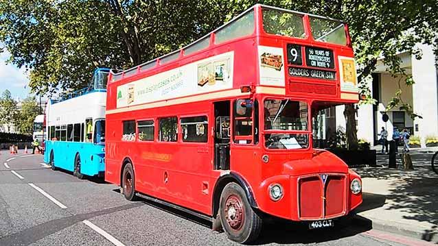 Routemaster Open Top London Bus