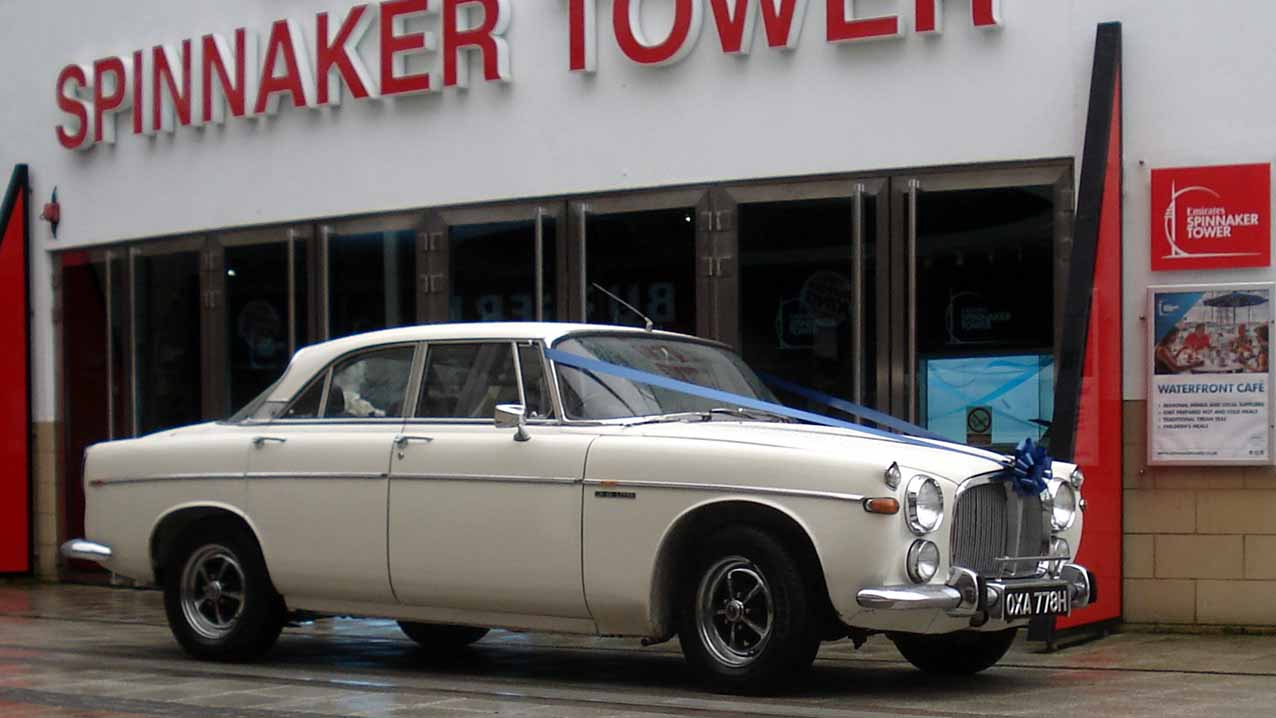 Rover P5B Coupe 3.5 litre