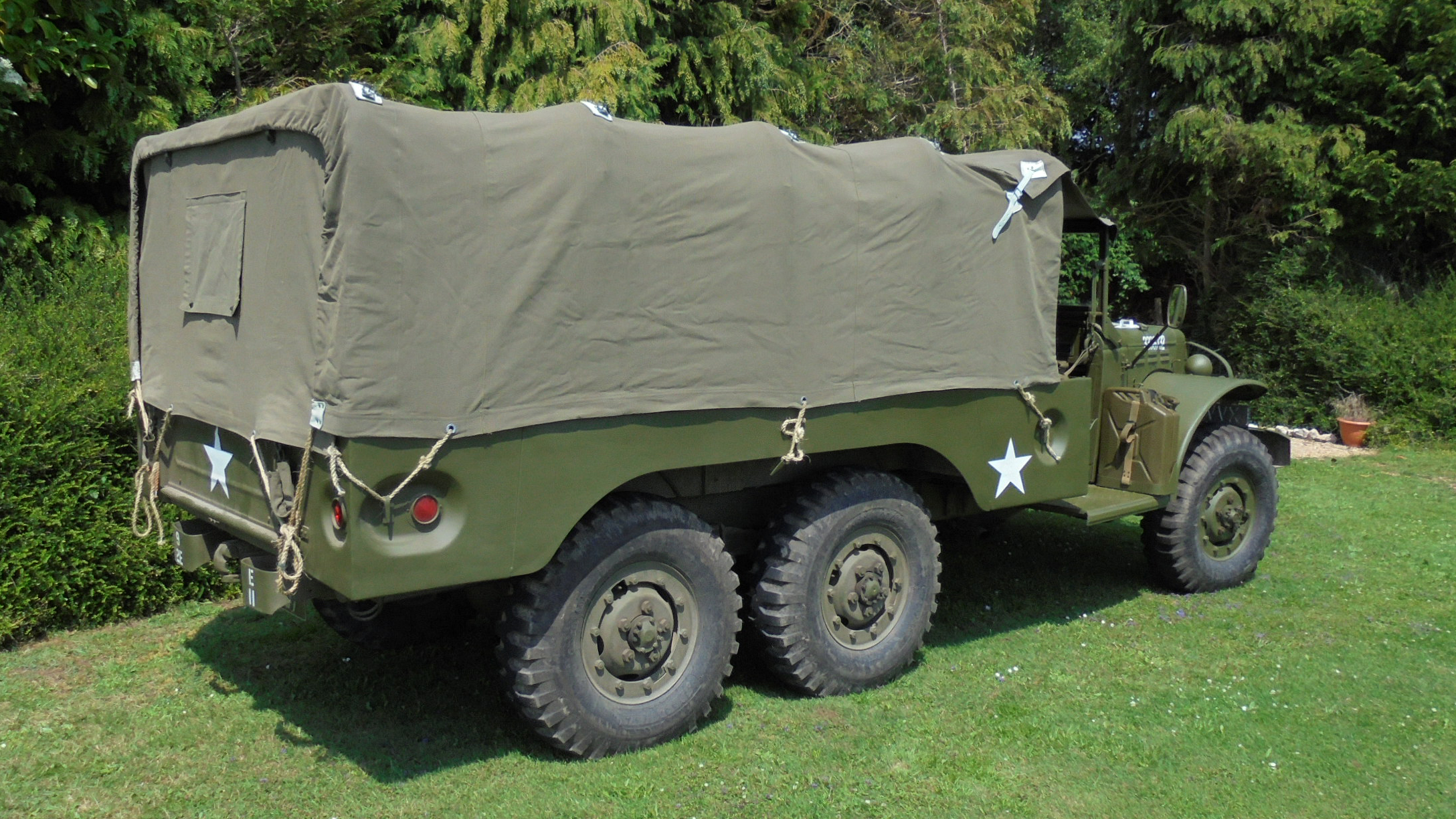Dodge WC63 Army Truck