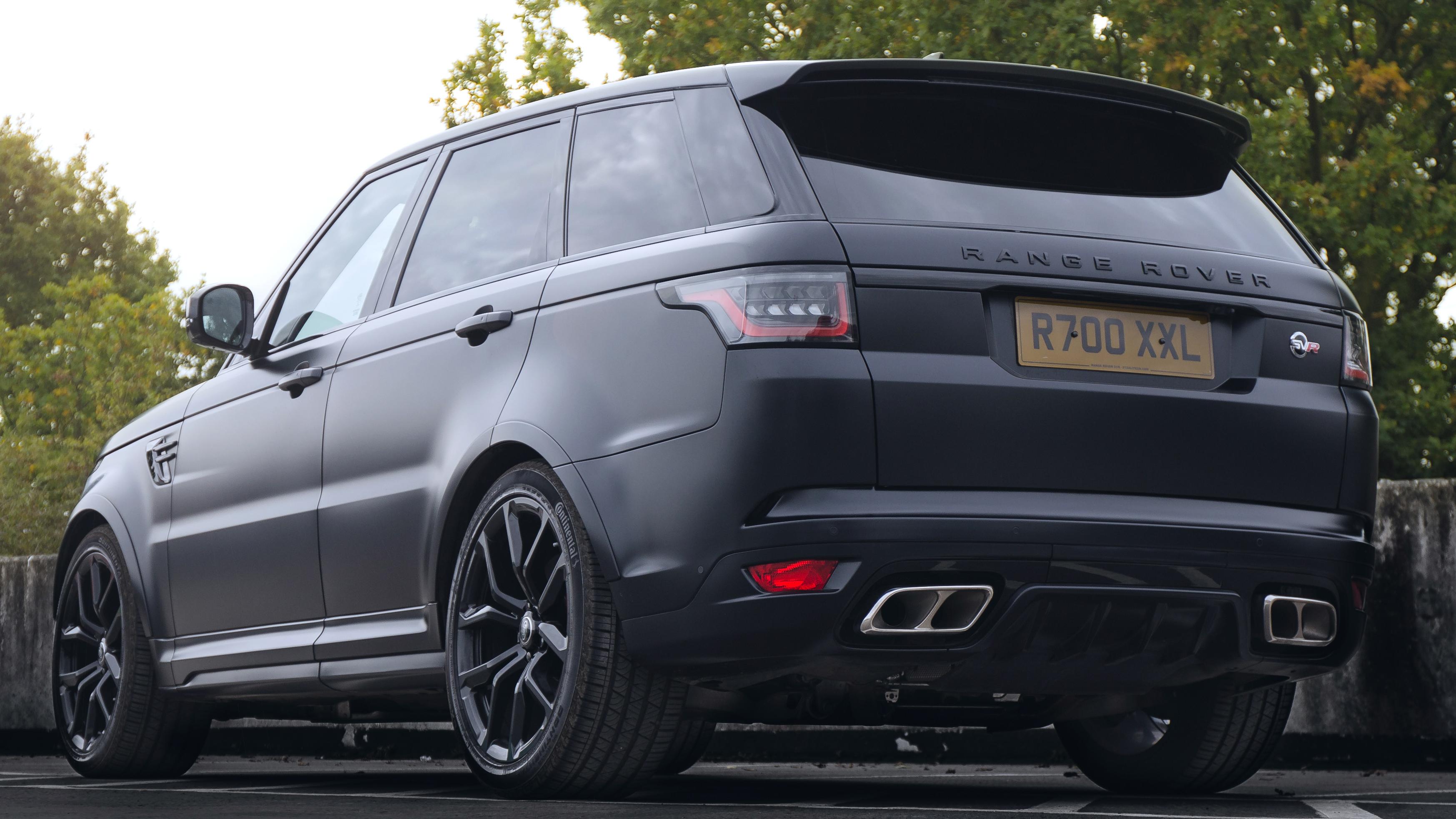 Range Rover Sport SVR V8