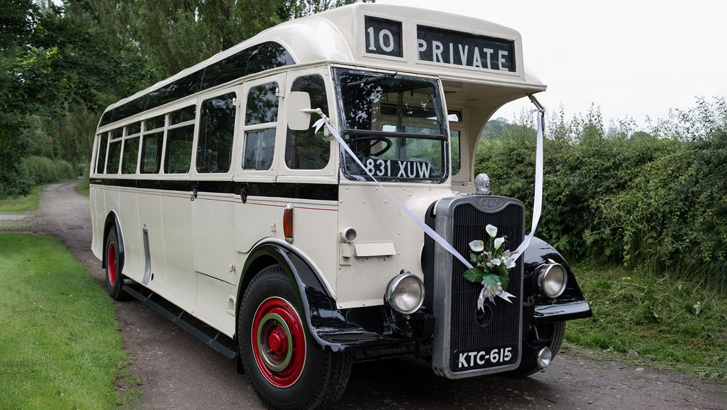 Guy Arab 3 wedding car for hire in Kidderminster, Worcestershire