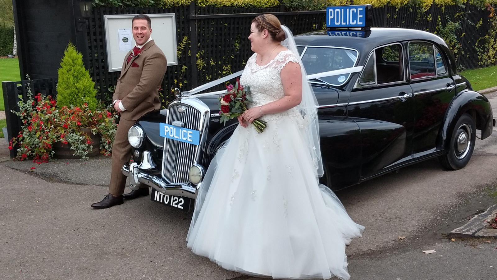 Wolseley 680 Police Car
