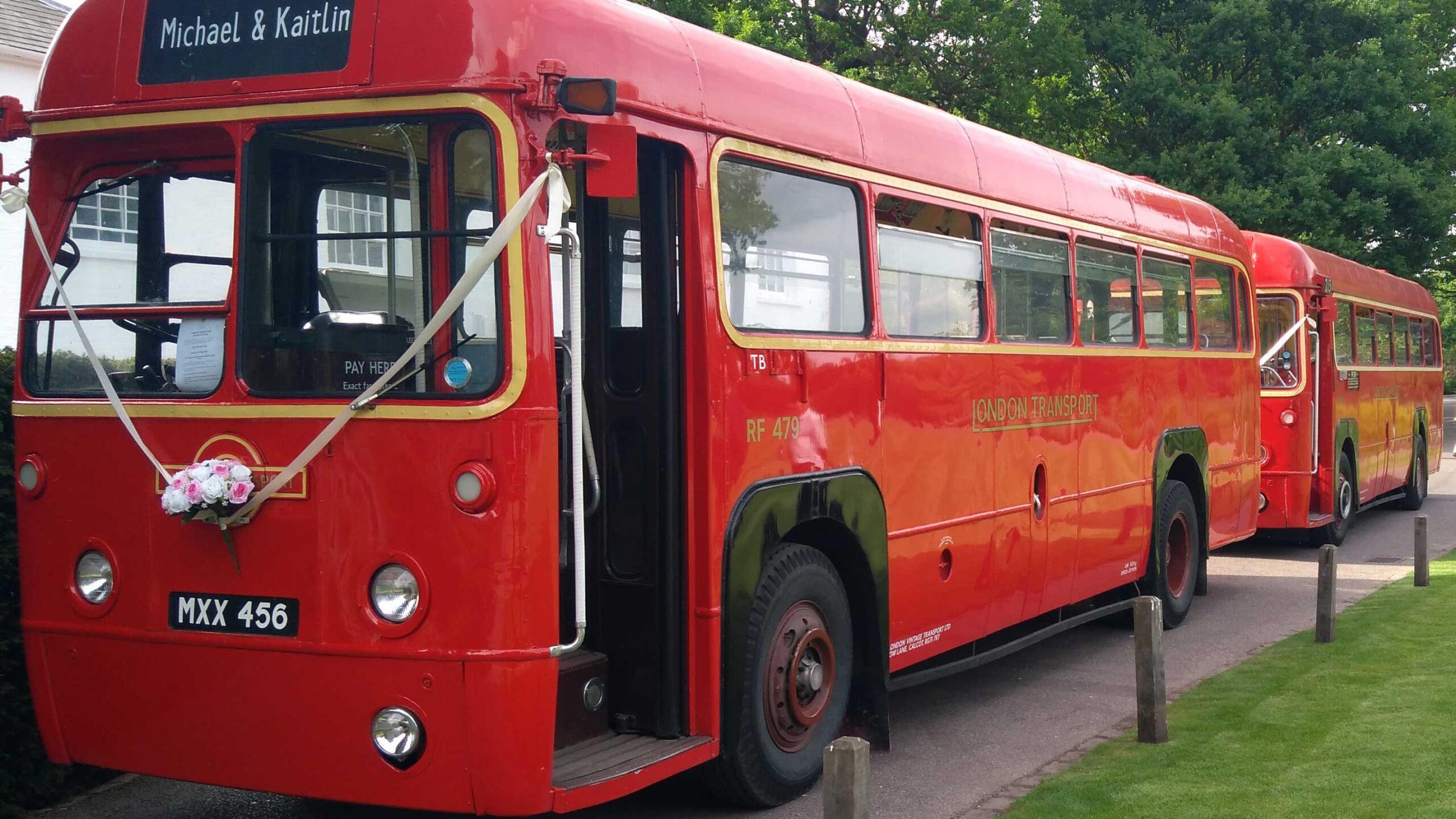 RF Single Decker Bus
