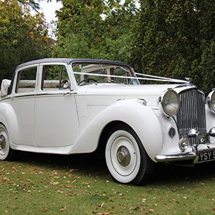Classic wedding cars for hire in Surrey