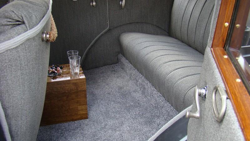 Franklin 11b Sedan wedding car for hire in Plymouth, Devon