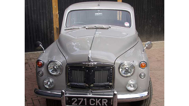 Rover P4 Saloon wedding car for hire in Lewes, East Sussex