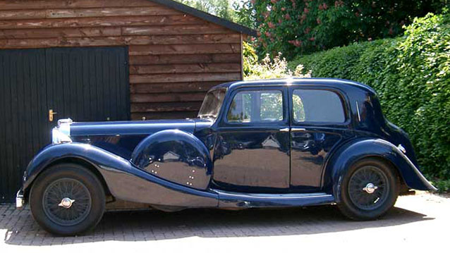 Lagonda LG45 wedding car for hire in Lewes, East Sussex