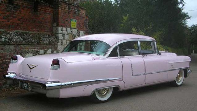 Cadillac Fleetwood wedding car for hire in Sutton, Surrey
