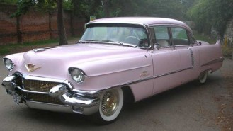 Cadillac Fleetwood wedding car for hire in Sutton, Surrey