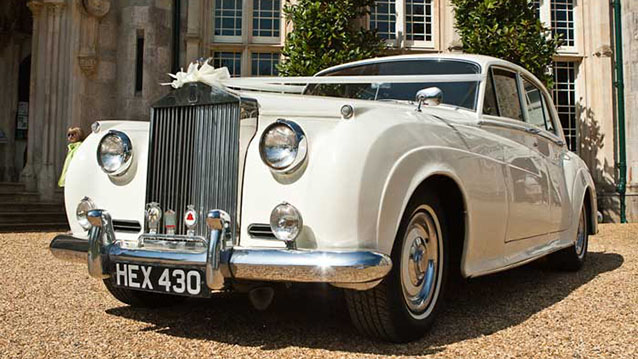 Rolls-Royce Silver Cloud I wedding car for hire in Cadnam, Hampshire
