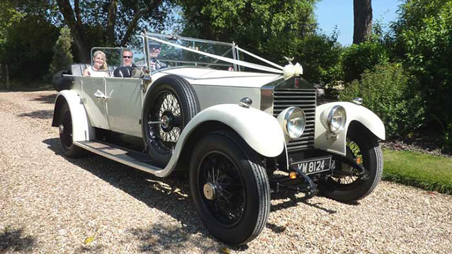Rolls Royce Convertible is a Vintage Wedding Cars in Dorset