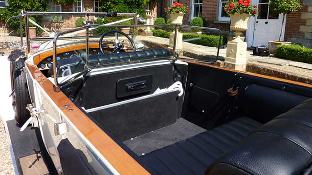 Rolls-Royce Park Ward Convertible wedding car for hire in Christchurch, Dorset
