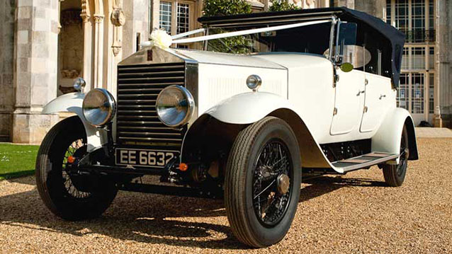 Rolls-Royce Royale Convertible wedding car for hire in Christchurch, Dorset