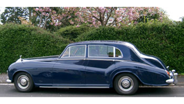 Rolls-Royce Silver Cloud III wedding car for hire in Portsmouth, Hampshire