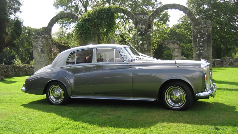 Bentley S3 wedding car for hire in Reigate, Surrey