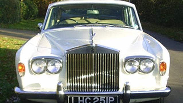 Rolls-Royce Silver Shadow I wedding car for hire in Fareham, Hampshire