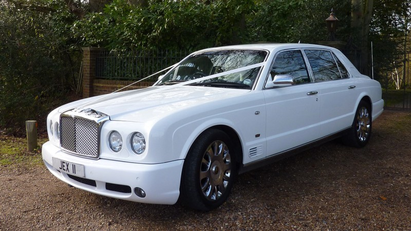 Bentley Arnage RL Turbo LWB wedding car for hire in Cadnam, Hampshire