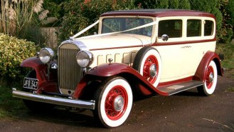 Buick Limousine wedding car for hire in Exeter, Devon