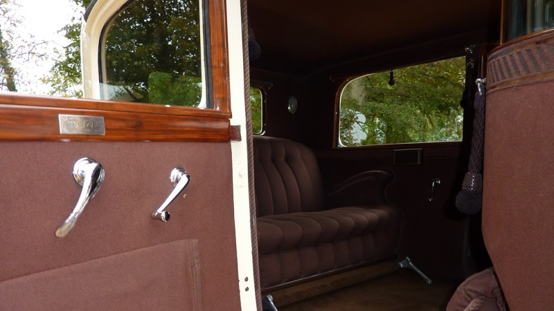 Studebaker Limousine wedding car for hire in Bridgwater, Somerset
