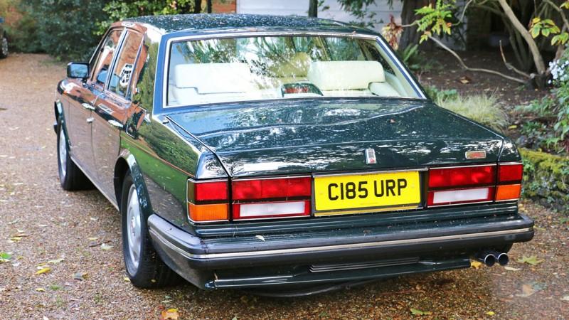 Bentley Turbo R wedding car for hire in Farnham, Surrey