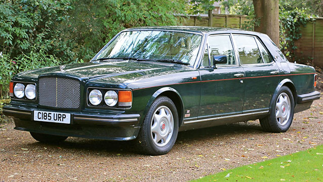 Bentley Turbo R wedding car for hire in Farnham, Surrey