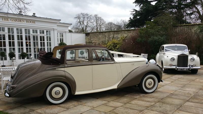Bentley 'R' Type Convertible wedding car for hire in Horsham, Surrey