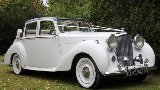 Bentley 'R' Type Convertible wedding car for hire in Horsham, Surrey