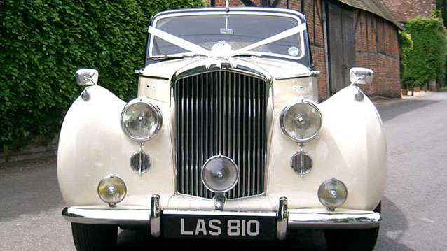 Bentley 'R' Type wedding car for hire in Hayling Island, Hampshire