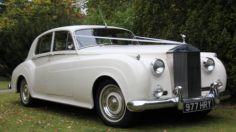 Rolls-Royce Silver Cloud I wedding car for hire in Horsham, Surrey