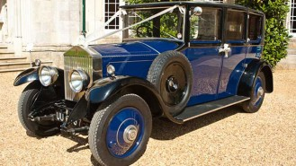 Rolls-Royce 20hp Landaulette wedding car for hire in Poole, Dorset