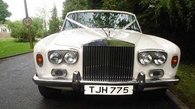 Rolls-Royce Silver Shadow I wedding car for hire in Horsham, Surrey