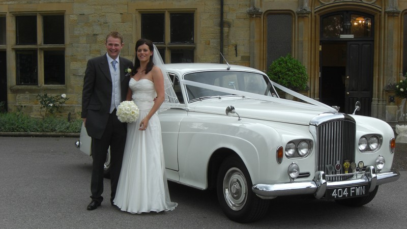Bentley S3 wedding car for hire in Uckfield, East Sussex