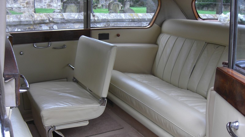 Austin Princess Limousine wedding car for hire in Uckfield, East Sussex