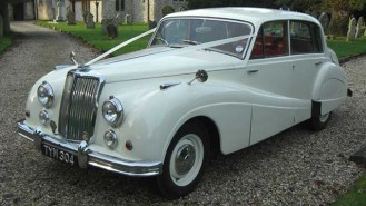 Armstrong-Siddeley Sapphire MKII wedding car for hire in Uckfield, East Sussex