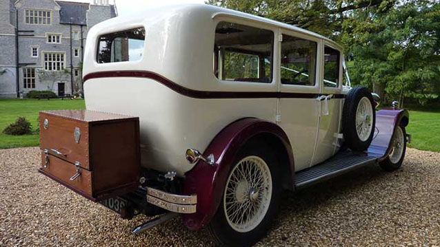 Sunbeam Limousine wedding car for hire in Bridgwater, Somerset