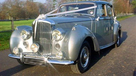 Bentley 'R' Type wedding car for hire in Reigate, Surrey