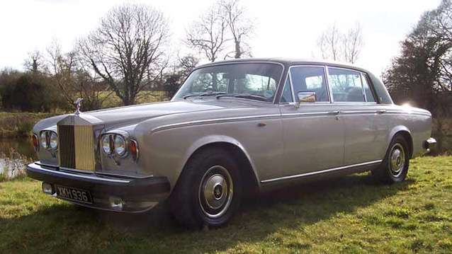 Rolls-Royce Silver Wraith II LWB wedding car for hire in Devizes, Wiltshire