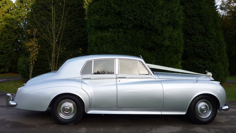 Rolls-Royce Silver Cloud I wedding car for hire in Eastleigh, Hampshire