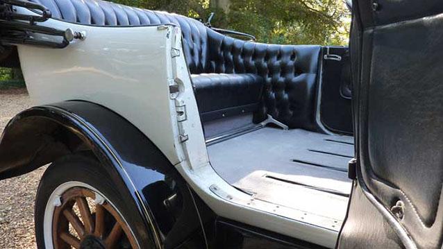 Reo Phaeton Convertible wedding car for hire in Bridgwater, Somerset