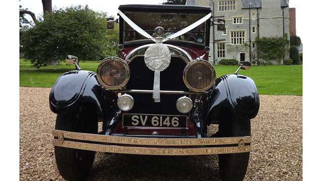 Cadillac Limousine wedding car for hire in Bridgwater, Somerset